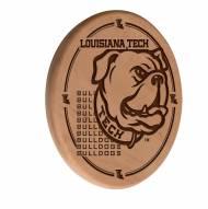 Louisiana Tech Bulldogs Laser Engraved Wood Sign
