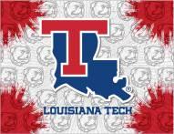 Louisiana Tech Bulldogs Logo Canvas Print