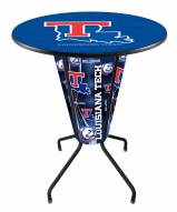 Louisiana Tech Bulldogs Indoor Lighted Pub Table