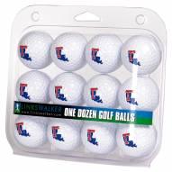 Louisiana Tech Bulldogs Dozen Golf Balls