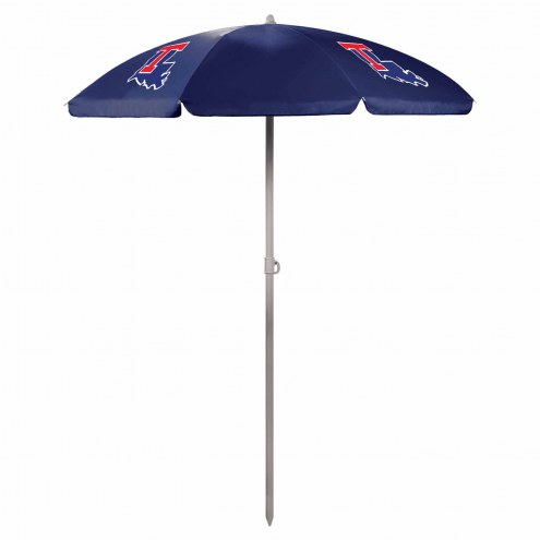Louisiana Tech Bulldogs Navy Beach Umbrella