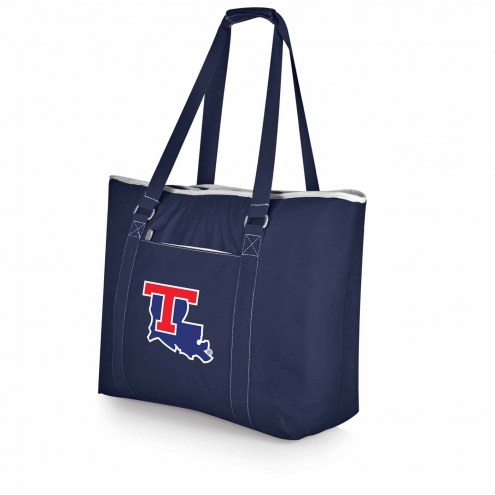 Louisiana Tech Bulldogs Navy Tahoe Beach Bag