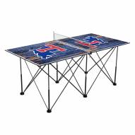 Louisiana Tech Bulldogs Pop Up 6' Ping Pong Table