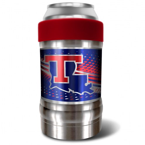 Louisiana Tech Bulldogs Red 12 oz. Locker Vacuum Insulated Can Holder