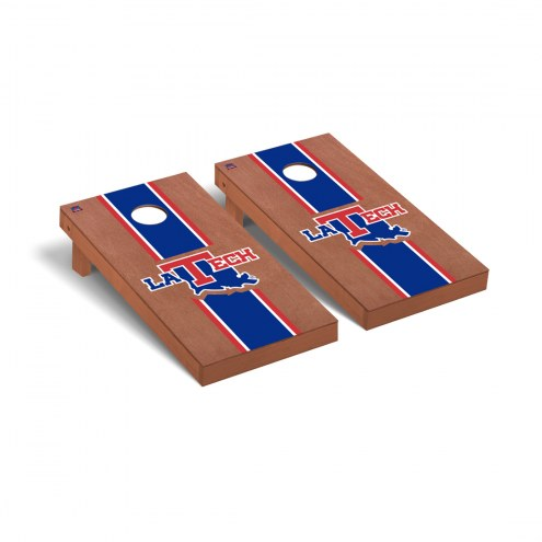 Louisiana Tech Bulldogs Rosewood Stained Cornhole Game Set