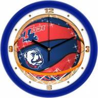 Louisiana Tech Bulldogs Slam Dunk Wall Clock