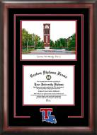 Louisiana Tech Bulldogs Spirit Diploma Frame with Campus Image