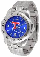 Louisiana Tech Bulldogs Sport Steel AnoChrome Men's Watch