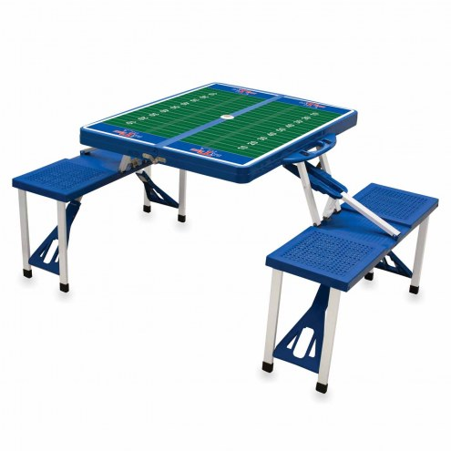 Louisiana Tech Bulldogs Sports Folding Picnic Table