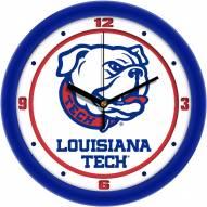 Louisiana Tech Bulldogs Traditional Wall Clock