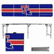 Louisiana Tech Bulldogs Victory Folding Tailgate Table