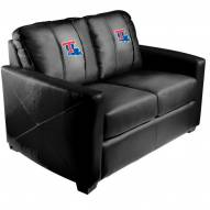 Louisiana Tech Bulldogs XZipit Silver Loveseat