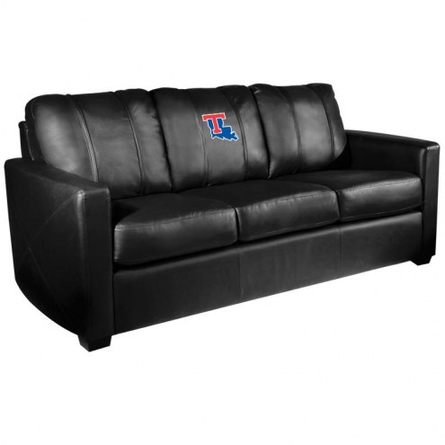 Louisiana Tech Bulldogs XZipit Silver Sofa