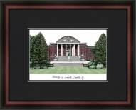 University of Louisville Academic Framed Lithograph