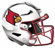 "Louisville Cardinals 12"" Helmet Sign"