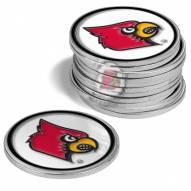 Louisville Cardinals 12-Pack Golf Ball Markers