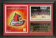 "Louisville Cardinals 12"" x 18"" Photo Stat Frame"