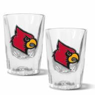 Louisville Cardinals 2 oz. Prism Shot Glass Set
