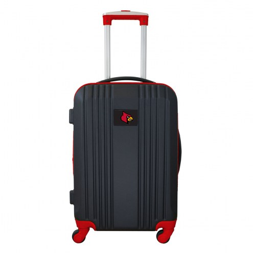 """Louisville Cardinals 21"""" Hardcase Luggage Carry-on Spinner"""