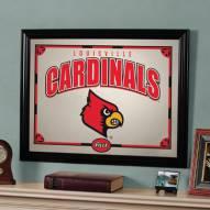 """Louisville Cardinals 23"""" x 18"""" Mirror"""