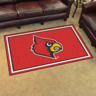Louisville Cardinals 4' x 6' Area Rug