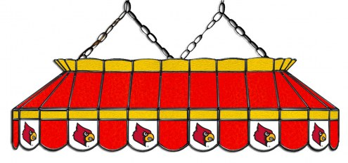"Louisville Cardinals 40"" Stained Glass Pool Table Light"