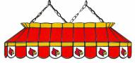 """Louisville Cardinals 40"""" Stained Glass Pool Table Light"""