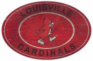 "Louisville Cardinals 46"" Heritage Logo Oval Sign"