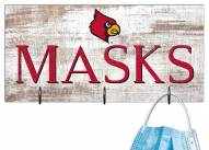 """Louisville Cardinals 6"""" x 12"""" Mask Holder"""