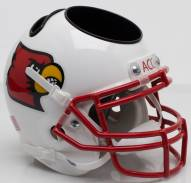 Louisville Cardinals Alternate 1 Schutt Football Helmet Desk Caddy