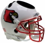 Louisville Cardinals Alternate 3 Schutt Football Helmet Desk Caddy