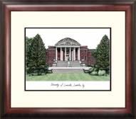 Louisville Cardinals Alumnus Framed Lithograph