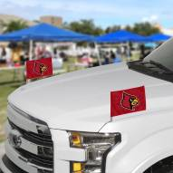Louisville Cardinals Ambassador Car Flags