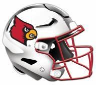 Louisville Cardinals Authentic Helmet Cutout Sign