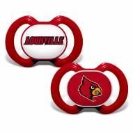 Louisville Cardinals Baby Pacifier 2-Pack
