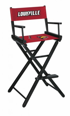 Louisville Cardinals Bar Height Director's Chair