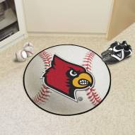 Louisville Cardinals Baseball Rug