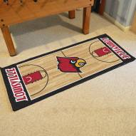 Louisville Cardinals Basketball Court Runner Rug