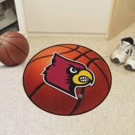 Louisville Cardinals Basketball Mat