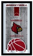 Louisville Cardinals Basketball Mirror