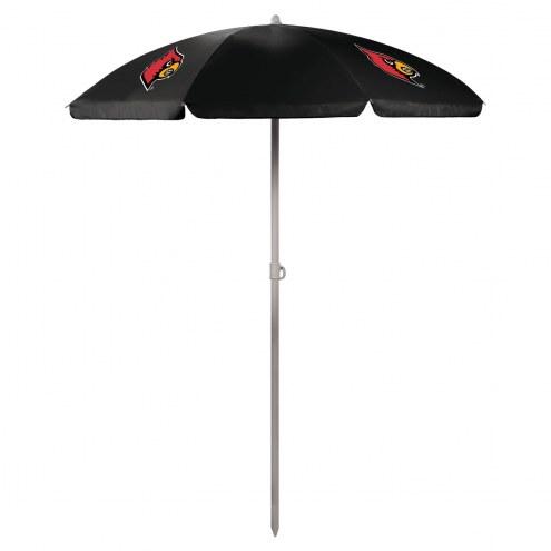 Louisville Cardinals Beach Umbrella