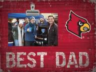 Louisville Cardinals Best Dad Clip Frame