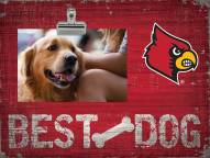 Louisville Cardinals Best Dog Clip Frame