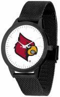 Louisville Cardinals Black Mesh Statement Watch