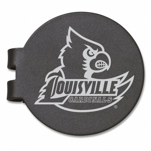 Louisville Cardinals Black Prevail Engraved Money Clip