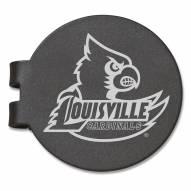 Louisville Cardinals Black Prevail Engraved Money Clip