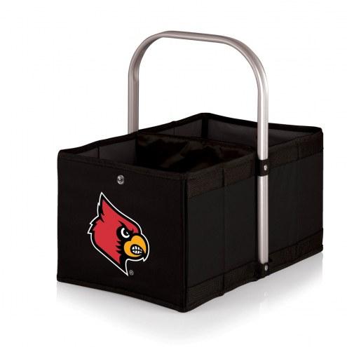 Louisville Cardinals Black Urban Picnic Basket