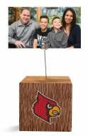 Louisville Cardinals Block Spiral Photo Holder