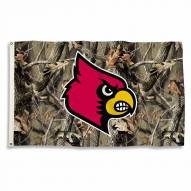 Louisville Cardinals 3' x 5' Camo Flag