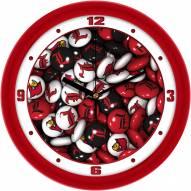 Louisville Cardinals Candy Wall Clock